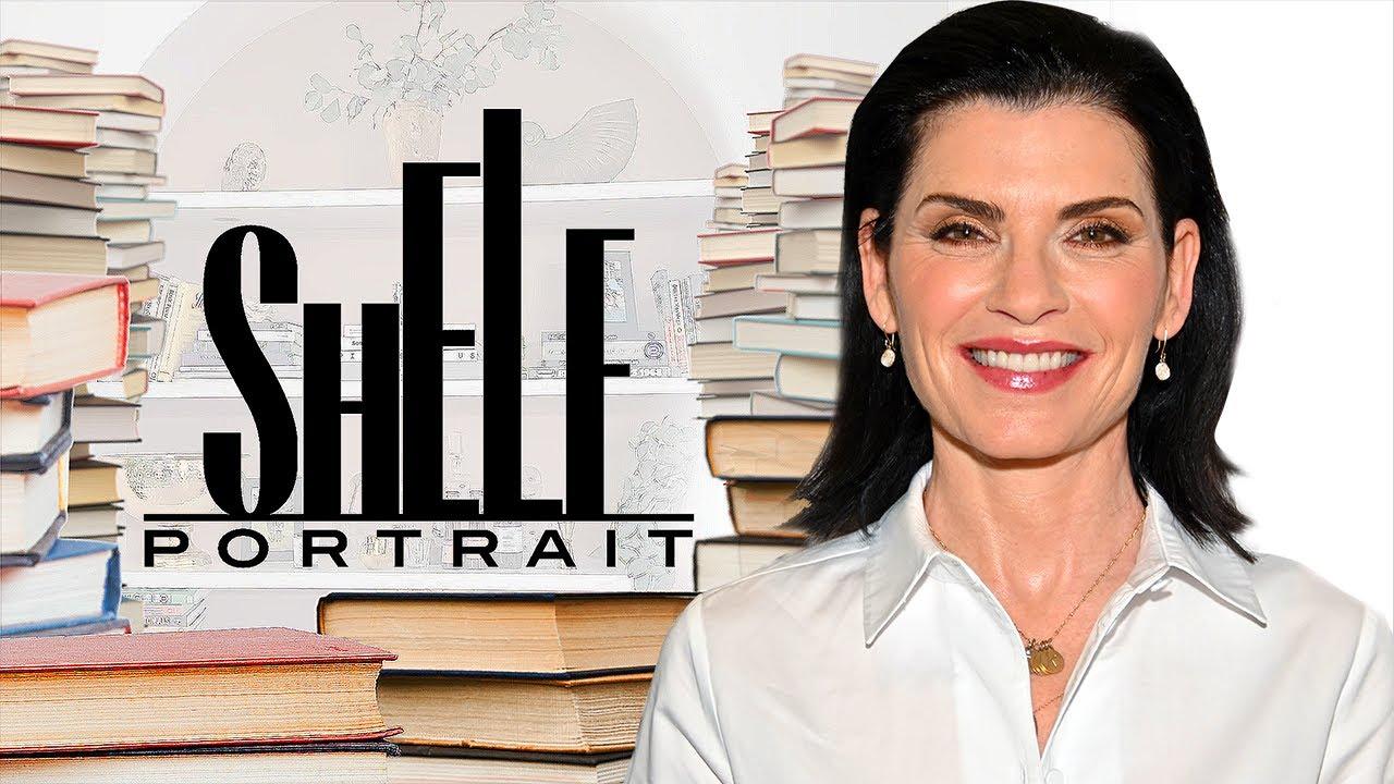 Julianna Margulies Gives a Tour of Her Bookshelves & Favorite Reads | Shelf Portrait | Marie Claire