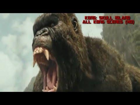 Kong: Skull Island (2017) - All Kong Scenes (HD)