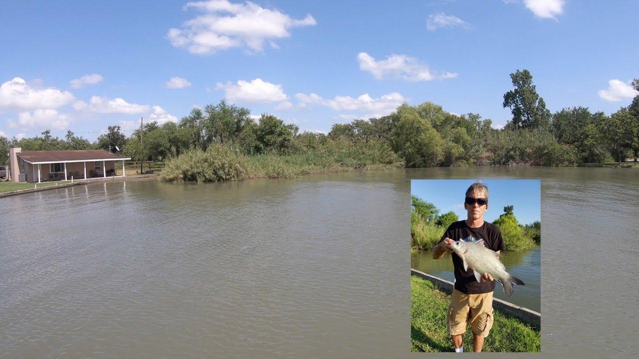 Lake Fishing in Mathis, Texas - YouTube