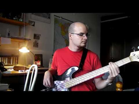 Bass guitar - Oriental riff improvisation