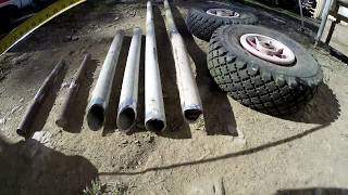 How to build a beach boat trailer