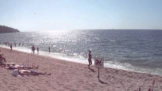 Испания, Коста-Брава, Ллорет-де-Мар, городской пляж(, 2012-07-29T10:17:14.000Z)