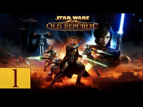 "Star Wars: The Old Republic – Let's Play – Part 1 – ""Creating DanQEightK: The Jedi Knight"""
