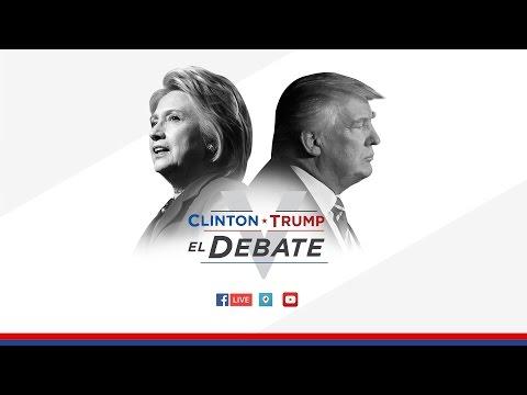 Trump y Clinton vuelven a enfrentarse en un segundo debate
