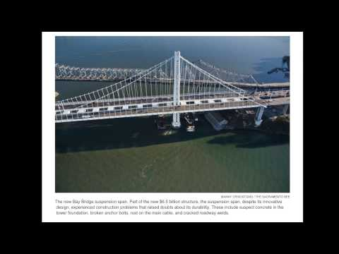 Main Cable Corrosion, Cracked Welds: San Francisco-Oakland Bay Bridge