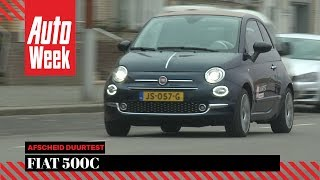 Fiat 500C - Afscheid Duurtest