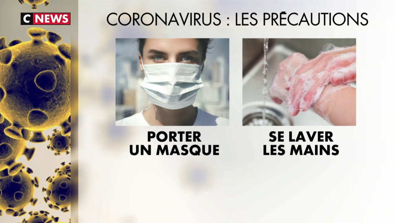masque pour eviter les virus
