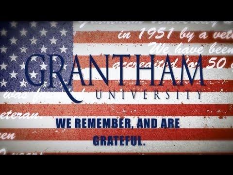 Grantham University Memorial Day 2013 Message