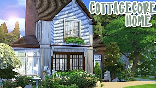 Cottagecore Home🍃🌻|| The Sims 4: Speed Build
