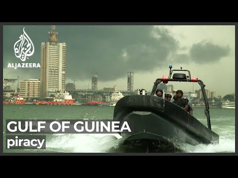 Countries struggling to cope with pirate attacks around Gulf of Guinea