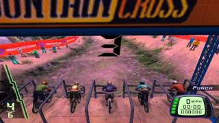 Downhill Domination Gameplay - A Bike, A Mountain, Gravity! - Part 1 (HD 1080p) PCSX2 (A006)