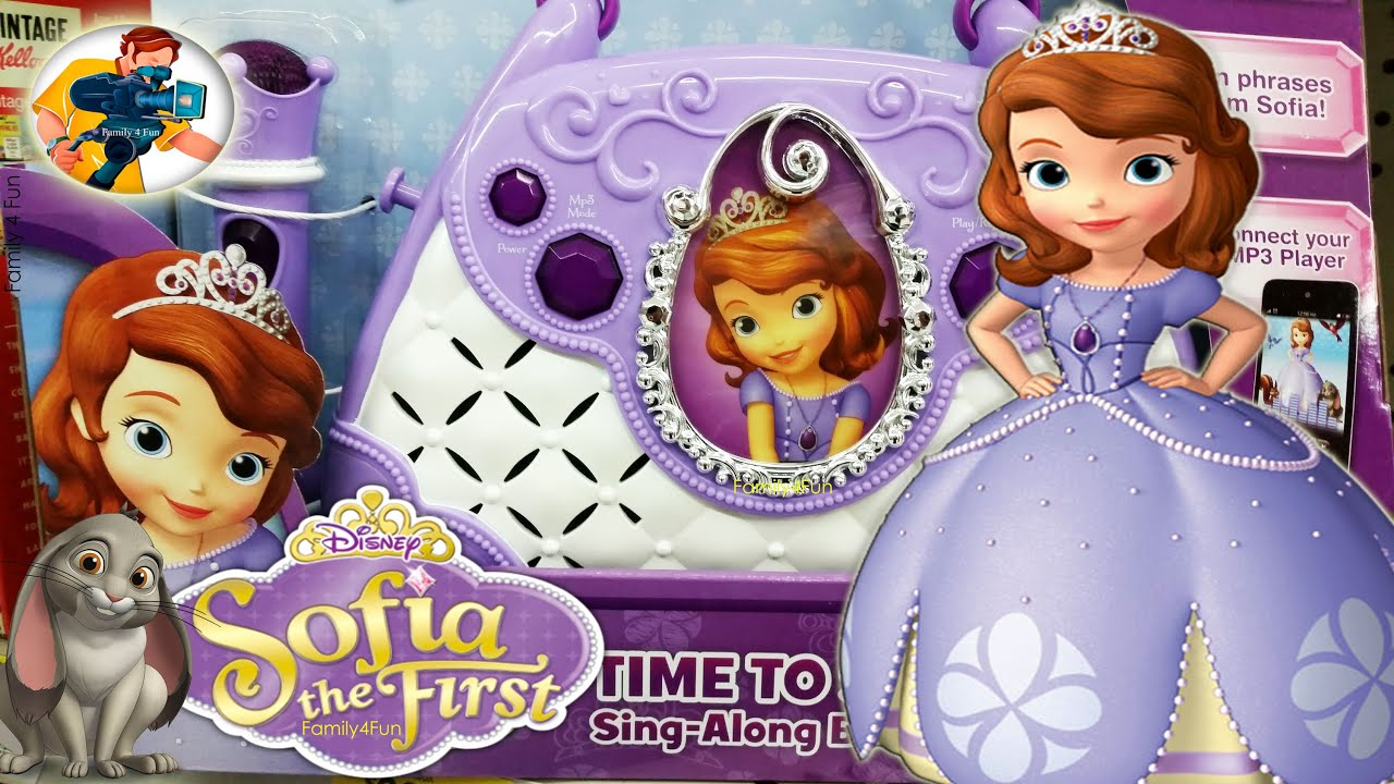Toy Hunt Sofia The First Shopping At Wal Mart Family 4 Fun Doc