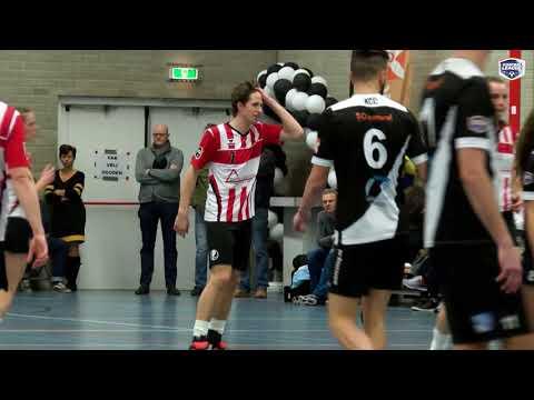 Korfbal League 2017/2018 - Samenvatting, Speelronde 12 - KCC/SO natural - Fortuna/Delta Logistiek