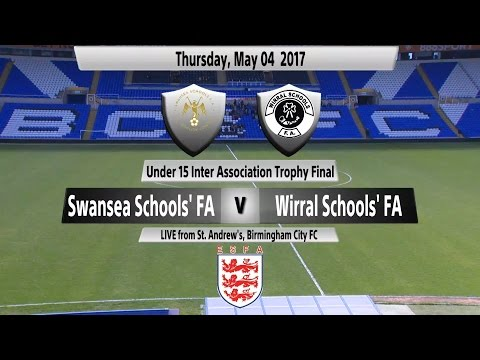 U15 Inter Association Trophy Final: Swansea Schools' FA v Wirral Schools' FA