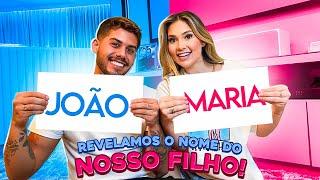 DECIDIMOS O NOME DO NOSSO FILHO(A)!!