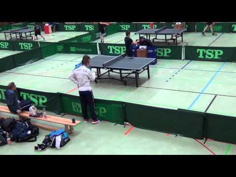 Spvgg Mössingen vs. TSG Steinheim: Michael Roll vs. Martin Gastel