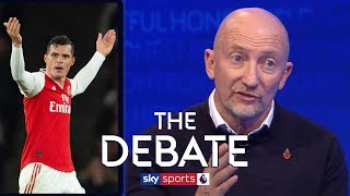 Debating Granit Xhaka's outburst after being booed by Arsenal fans | The Debate | Holloway & O'Hara