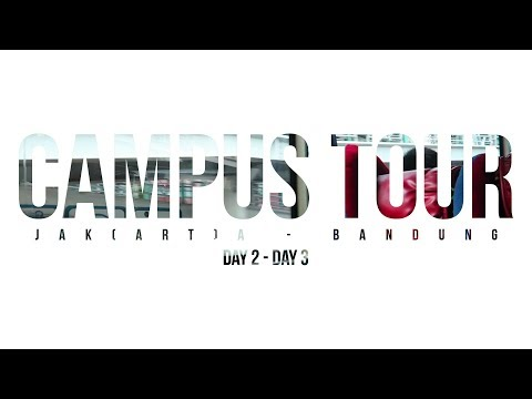 Jakarta - Bandung! | Campus Tour! | Day 2 - Day 3 | Daily_Vlog #23