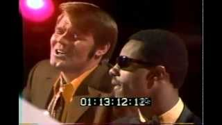 Stevie Wonder and Glen Campbell Blowin' In The Wind (Bob Dylan) 1969 LIVE