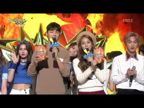 161028 Music Bank BTS Winning Speech And Encore