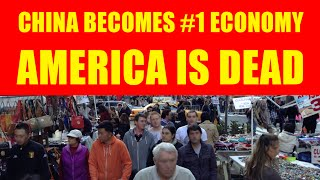 China Now #1 Economy as Unemployment, Poverty & Debt Increase in U.S!
