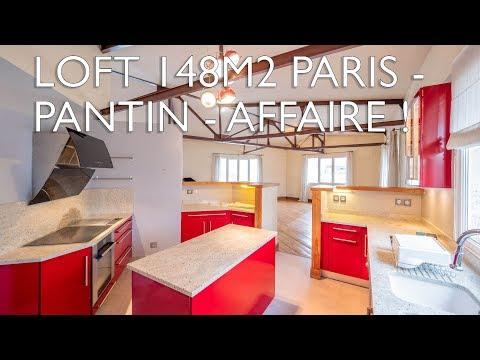 Loft à Vendre à Paris - Pantin Ref : 96694GDI93