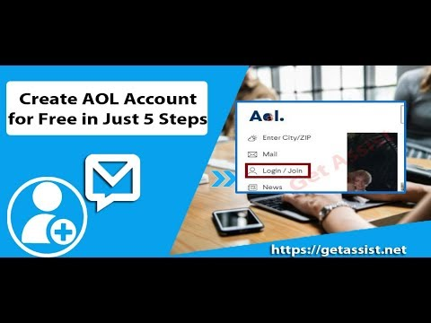 How To Create An AOL Account | Create A Free AOL Account In Just 5 Steps