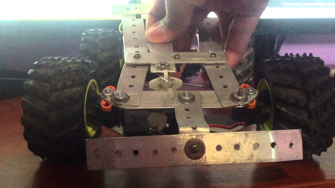 Sistema de dirección de carro control remoto Android Arduino - YouTube