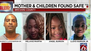 Woman, Children In Amber Alert Found Safe