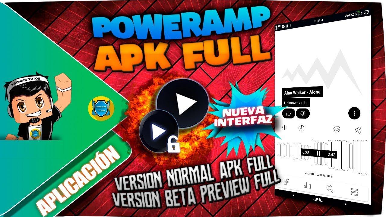 Poweramp APK Full Junio 2018 Nueva Interfaz | Poweramp Beta Preview  v3_Build_790