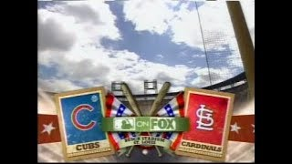 30 - Cubs at Cardinals - Saturday, May 3, 2008 - 2:45pm CDT - FOX