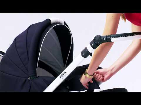 Как выбрать КОЛЯСКУ для новорожденного 👶 🚗? Видео обзор коляски ADAMEX SENSO 2 в 1 📹