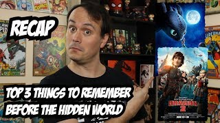 How To Train Your Dragon Recap - 3 Things to Remember Before HTTYD 3
