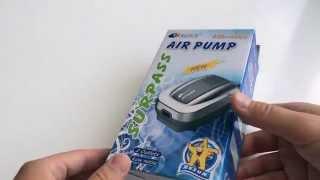 Компрессор для аквариума Resun Air 3000(Resun Air 3000 компрессор для аквариума: ..., 2015-07-07T20:36:40.000Z)