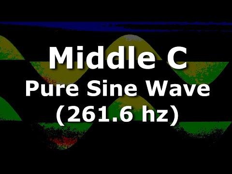Middle C Sine Wave for Ten Hours - 261 6 hertz