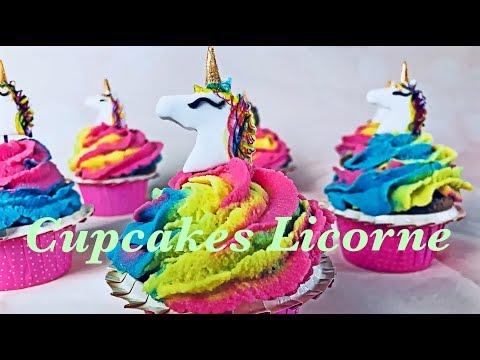 tuto-cupcakes-licorne,-faciles-à-faire
