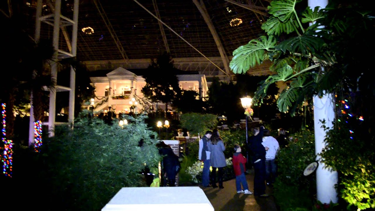 Inside Opryland Hotel Christmas