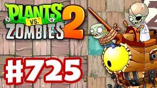 Pirate Seas Skirmish! Epic Quest! - Plants vs. Zombies 2 - Gameplay Walkthrough Part 725