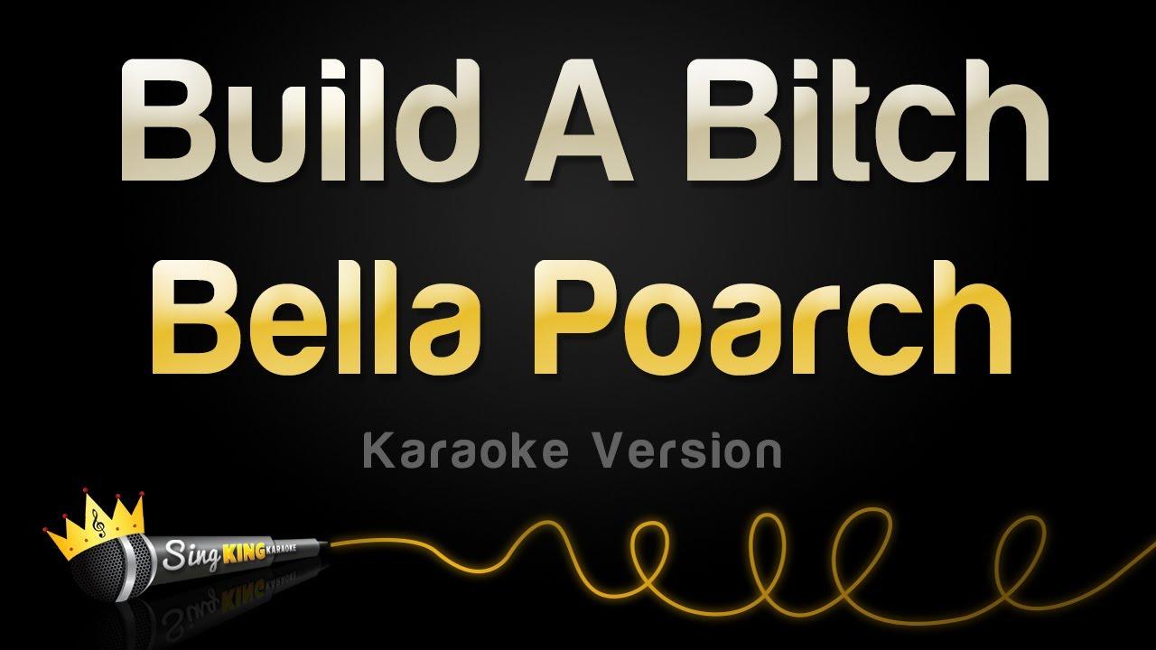 Bella Poarch - Build A B (Karaoke Version)