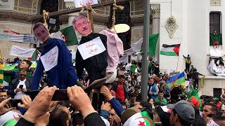 تواصل الاحتجاجات في الجزائر للأسبوع السابع على التوالي …