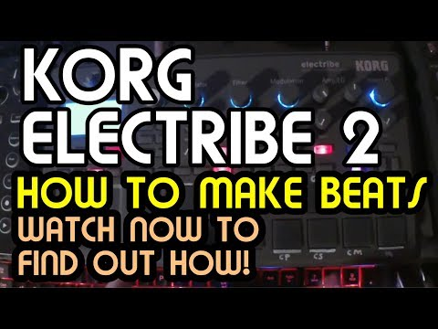 How To Make Beats For Beginners // Korg Electribe 2 Tutorial