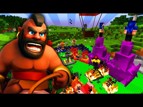 MINECRAFT + CLASH OF CLANS