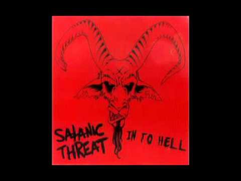 Satanic Threat - In To Hell EP (2008)