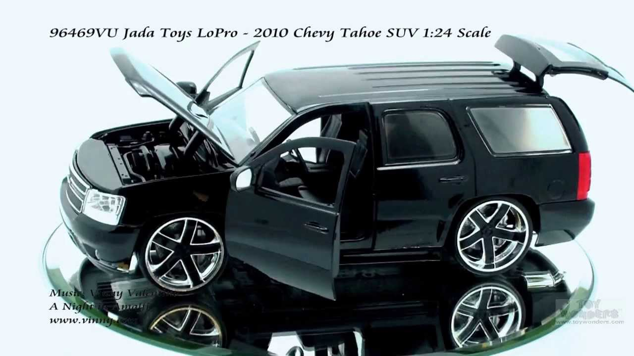 96469vu Jada Toys Lopro 2010 Chevy Tahoe Suv 124 Scale