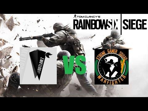 Rainbow Six: Siege OTz vs. XGS [Presidential Plane] - ESL Kickoff Cup RO 16