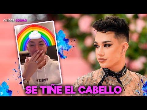 JAMES CHARLES SE TIÑE el CABELLO y el RESULTADO es PERTUR... BADOR thumbnail