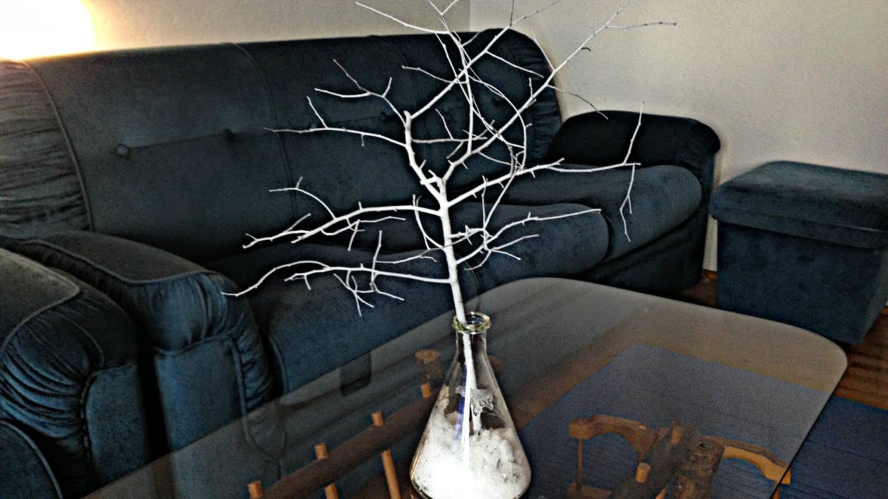 How To Make Dried Branches Decoration Diy Youtube