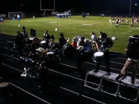 Oak Forest High School Drumline 9-6-13