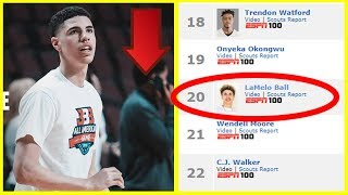 The REAL Reason Why LAMELO BALL\'S High School Ranking Is DROPPING..