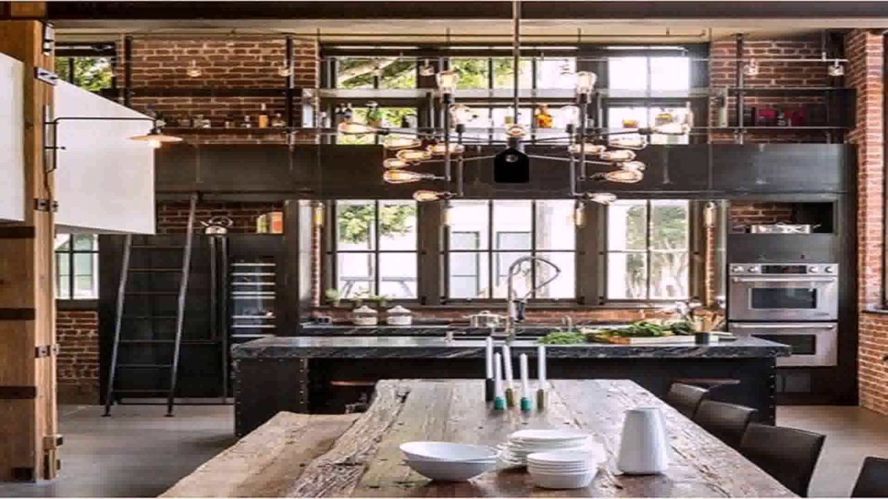 Industrial Loft Style House Plans - YouTube